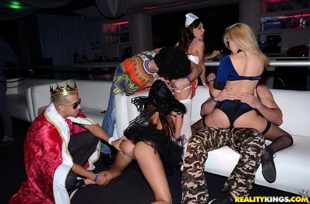 Serena Torres, Adriana Malao, Belle Sparkles, Emily Kae, Esmi Lee, Giselle Mona, Riley Twist, Selena Haze   In The VIP pictures lesbian